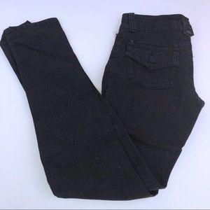 Grey Hydraulic Skinny Jeans